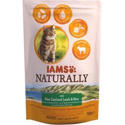 Naturally - Croquettes agneau riz pour chats adultes