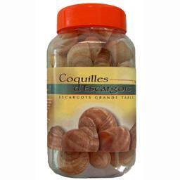 Coquilles d'escargots,Sélectionné Par Votre Magasin,la boite de 48