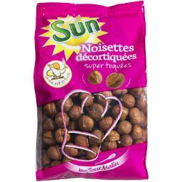 Sun Sun Fruits Secs Noisettes décortiquées le sachet de 300 g