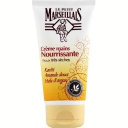 Crème mains nutrition beurre de karité amande argan