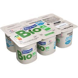 Petits fromages frais natures BIO, 3,8% mat gr