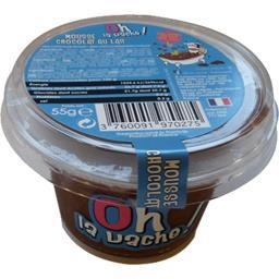 Oh La Vache ! Mousse chocolat au lait le pot de 55 g