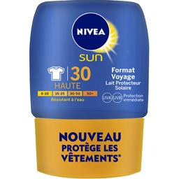 Nivea Sun Lait Protect & Hydrate FPS30 Format Voyage 50 ml