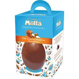 Motta Œufs chocolat lait éclats de noix de macadamia caram... la boite de 125 g