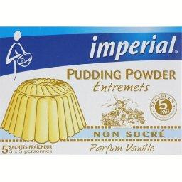 Pudding Powder non sucré parfum vanille