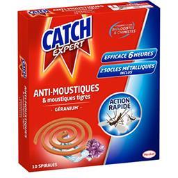 Expert - Spirales anti-moustiques/tigres parfum géra...