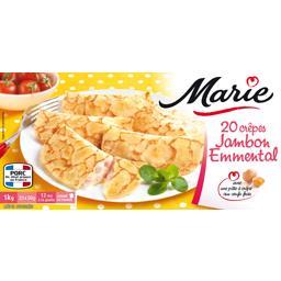 Marie Marie Crêpes jambon emmental les 20 crêpes de 50 g
