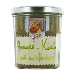 Préparation de fruits : ananas kiwi cuit au chaudron
