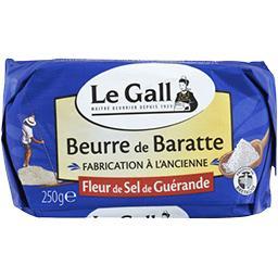 Beurre de baratte fleur de sel de Guérande
