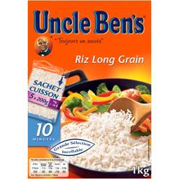 Uncle Ben's Uncle Ben's Riz long grain 10 minutes la boite de 1 kg