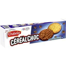 Biscuits Céréal'Choc nappés chocolat au lait