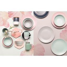 Collection Pastel - Grande assiette D 27 cm gris anthracite