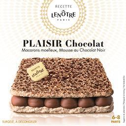Labeyrie Recette Lenôtre Paris Plaisir au chocolat 6-8 parts la boite de 405 g