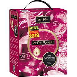 VeRy Notre Sélection Boisson Very Pamp' rosé pamplemousse la fontaine de 3 l