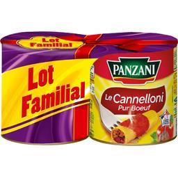 Panzani Panzani Le Cannelloni pur bœuf les 2 boites de 800 g