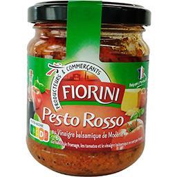 Sauce Pesto Rosso au vinaigre balsamique de Modène