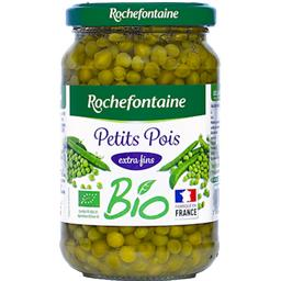 Petits pois Rochefontaine Extra fins, bio - 230g