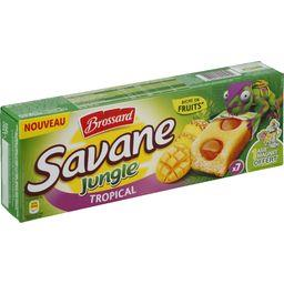 Savane - Gâteau Jungle Tropical