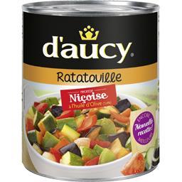 D'aucy D'aucy Ratatouille recette niçoise à l'huile d'olive la boite de 750 g