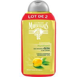 Shampooing aux extraits naturels d'ortie et de citro...