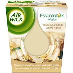Air Wick Essential Oils - Bougie vanille gourmande