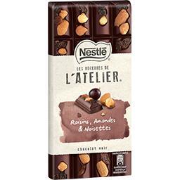 Les Recettes de L'Atelier - Chocolat noir raisins am...
