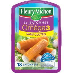 Le bâtonnet riche en Oméga 3, sans gluten