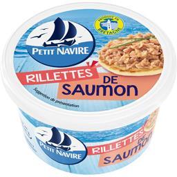 Petit Navire Petit navire Rillettes de saumon le pot de 125 g