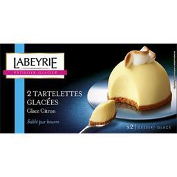 Tartelettes glacées glace citron sablé pur beurre
