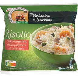 Risotto crevettes courgettes & champignons - Saveur ...