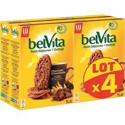 Belvita Petit Déjeuner - Biscuits chocolat & 5 céréales complètes