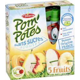 Pom'Potes - Spécialité de pomme fruits jaunes sans s...