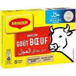 Bouillon goût bœuf halal
