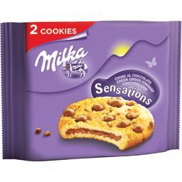 Cookies Sensations cœur choco fondant