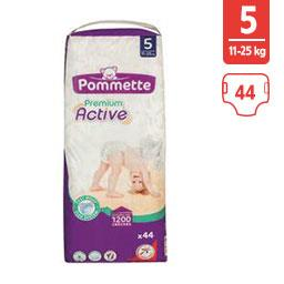 Couches Premium Active, taille 5 : 11-25 kg