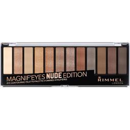 Rimmel Rimmel London Palette Magnifeyes 12 pan 001 Nude Edition la palette