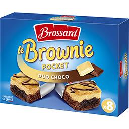 Le Mini Brownie duo de chocolats