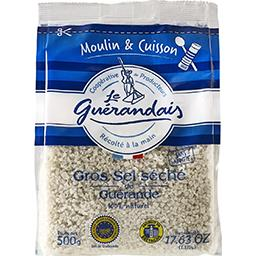 Gros sel de Guérande séché spécial moulin