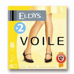 Collants voile gris T4