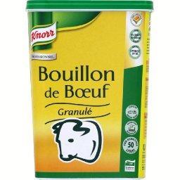 Bouillon de bœuf granulé, la boîte,KNORR,1 null