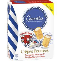 Crêpes fourrées fromage La Vache qui rit