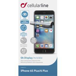 Set de 2 films de protection d'écran pour Iphone 6 plus