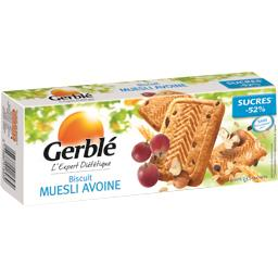 Biscuits muesli avoine