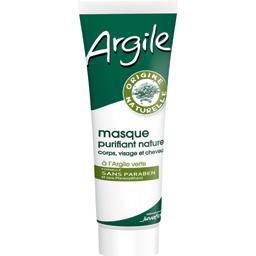 Argile - Masque purifiant corps, visage et cheveux à...