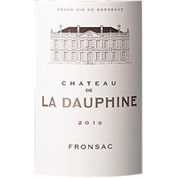 Fronsac Château La Dauphine vin Rouge 2016