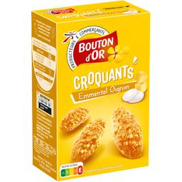 Biscuits Croquants emmental oignon