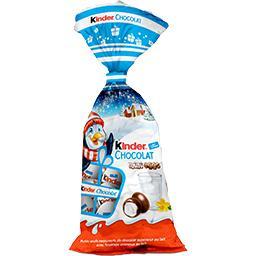 Kinder Kinder Mini Eggs fourrage crémeux au lait le sachet de 182 g