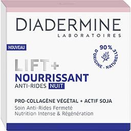 Diadermine Diadermine Lift + - Soin nuit anti-rides Nourrissant le pot de 50 ml