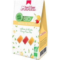Motta Dégustation Gourmande - Pâtes de fruits BIO la boite de 180 g