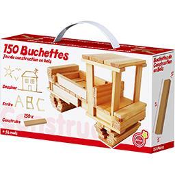 Buchettes jeu de construction en bois
